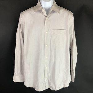 Banana Republic Men's White Dress Shirt 15